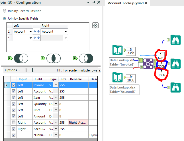 Lookup Alteryx